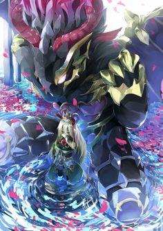 Brave Frontier Zellha and Kajah Brave Frontier, Best Rpg, Cool Wallpaper, Nice Wallpapers, Manga Drawing, Conceptual Art, Beautiful Artwork, Cool Drawings, Anime Manga