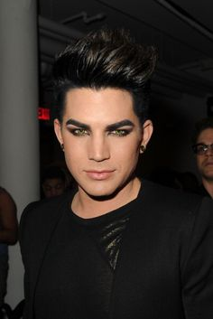 Adam Lambert... Wish I could get my make-up that pretty!