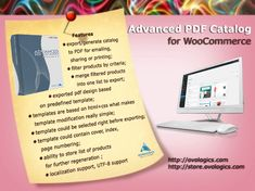 Advanced PDF Catalog for #WooCommerce Is #module that #generate #pdf file of your #products and #categories. Do you want to increase your sales? Just generate PDF catalog with the products list and send it to your customers and your sales will increase!!!  http://store.ovologics.com/advanced-pdf-catalog-woocommerce #ovologics #wordpress #extension #Ecommerce