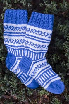 Nordic Yarns and Design since 1928 Knitted Slippers, Slipper Socks, Sock Leggings, Decoden, Knee High Socks, Boot Cuffs, Knitting Socks, Knit Socks, Crafts To Do