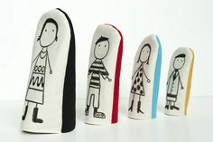 Fabric Nesting Dolls from Made by Joel. Cannot wait to try these.  So adorable.