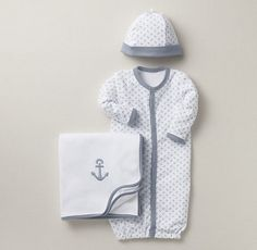 Anchor Newborn Set - outfit for coming home from the hospital!
