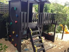 most up-to-date pics backyard for kids forts wedding work : As soon as the weather conditions are wonderful, this Hooligans as well as I devote most of your time frame exterior, around our backyard enjoy space. Outdoor Forts, Kids Outdoor Play, Outdoor Play Areas, Playhouse Outdoor, Kids Play Area, Play Area Outside, Playhouse Ideas, Backyard Playhouse, Kids Room