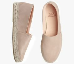 BISQUIT  Calf Leather Espadrilles by Lika Mimika