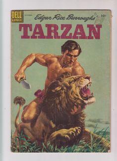 Jungle Jim's, Jungle Boogie, Jungle Life, Book Cover Art, Comic Book Covers, Comic Books Art, Tarzan Actors, Tarzan Of The Apes, Silver Age Comics