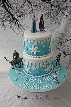 frozen birthday cakes - Google Search