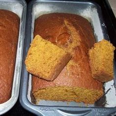 Check out this delicious cooking,  learn how this Pumpkin Bread is made