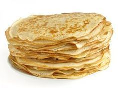 Crepes, made with coconut flour and oil. I'm almost positive that this photo isn't a photo of the actual crepes. Paleo Recipes, Low Carb Recipes, Cooking Recipes, Good Easy Recipes, Flaxseed Meal Recipes, Crepes Minces, Coconut Flour Crepes, Coconut Oil, Toasted Coconut
