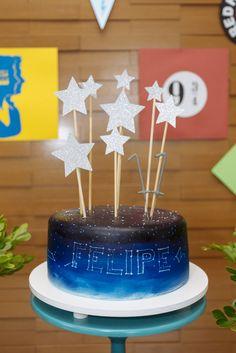 festa teen teen party star cake