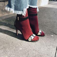 Comment porter le duo sandales + chaussettes ? | Glamour