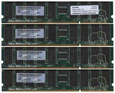 4BLG 4GBx4 208pin PC2100 CL2.5 Registered ECC DDR DIMM Memory NOB U.S, SAMMMT/MIX, BLG, 12R9278