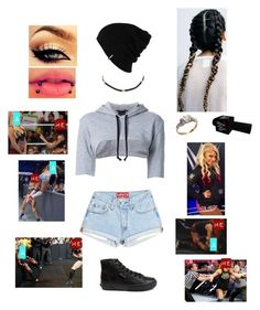 WWE Segment Then Attacking Alexa by rosemlove on Polyvore featuring Assin, Superga, Shay, Patagonia and WWE