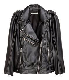 Biker-takki | Musta | Naiset | H&M FI