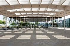 Hager Forum von Sauerbruch Hutton / Klarer Knoten im Elsass - Architektur und Architekten - News / Meldungen / Nachrichten - BauNetz.de
