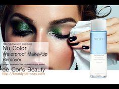 Nu Skin Nu Color BiPhasic Waterproof MakeUp Remover by decorsbeauty Waterproof Makeup Remover, Eye Makeup Remover, Skin Makeup, Galvanic Spa, Long Lasting Makeup, Nu Skin, Make Up Remover, Moisturizer, Halloween Face Makeup