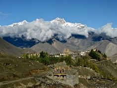 Beautiful Images of Nepal | beautiful view from marpha, mustang, nepal