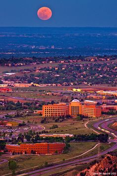Supermoon, Denver, Colorado
