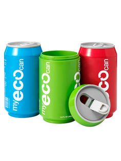 Can it: Fill these eco-friendly, reusable guys up with whatever you want, hot or cold--they have thermal walls and resealable tabs. My Eco Can, $12.99 each; perpetualkid.com.    Read more: Lunch Box Containers for Kids - Cool Kids Lunch Containers - Redbook