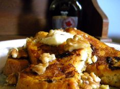 pumpkin french toast with a little kick