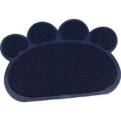 "Petco Litter Trapper Paw Shaped Cat Litter Mat, 23.5"" L X 17.75"" W - http://petproduct.reviewsbrand.com/petco-litter-trapper-paw-shaped-cat-litter-mat-23-5-l-x-17-75-w.html"