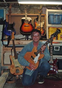 My guitars...too bad I can't play any of them worth a crap...but I enjoy trying.