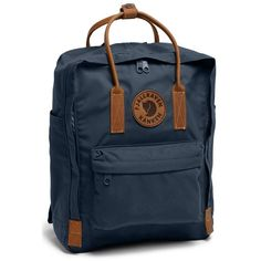 Women's Fjallraven 'Kanken No. 2' Backpack (€120) ❤ liked on Polyvore featuring bags, backpacks, navy, fjallraven backpack, tote handbags, navy blue tote bag, navy blue backpack and day pack backpack