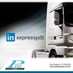 Sim, nós gostamos e participamos das redes sociais! Veja nosso perfil no Linkedin. https://www.linkedin.com/company/pitt-express