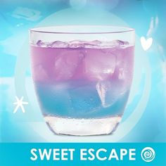 A sweet escape for summer nights!) Sweet Escape: 1 part Hpnotiq, 1 part Harmonie, Splash of Gingerale A sweet escape for summer nights!) Sweet Escape: 1 part Hpnotiq, 1 part Harmonie, Splash of Gingerale Party Drinks, Cocktail Drinks, Fun Drinks, Cocktails, Hpnotiq Drinks, Alcoholic Drinks, Refreshing Drinks, Summer Drinks, Ginger Ale Cocktail