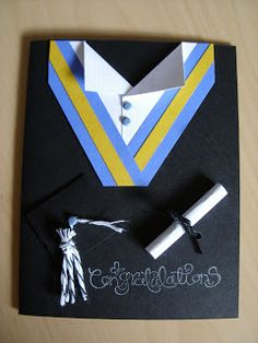 Hawaii Paper Party: Graduation Card
