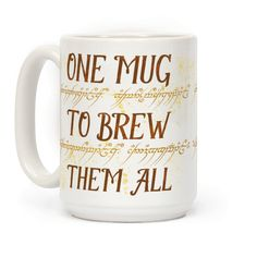 One Mug To Brew Them All | T-Shirts, Tank Tops, Sweatshirts and Hoodies | HUMAN