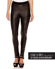 a003a21507b These Nicole Miller leather pants are one of the hottest Fall 2015 trends  and they re at the top of our must-have list this season!