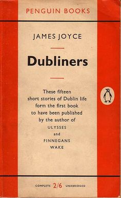 Dubliners by James Joyce is April's Book Club Choice.