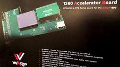 Karty turbo WARP z procesorem do Amigi 500 i 1200