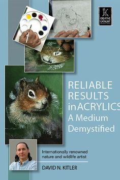 Reliable Results in Acrylics: A Medium Demystified with David Kitler http://ccpvideos.com/products/dnk2d