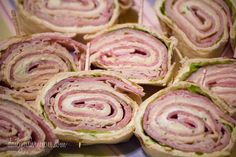 Easy Deli Sandwich Pinwheels | Perfect lunch or snack or appetizer | Daily Dish Recipes