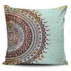 Cojin Decorativo Tayrona Store Mandala 78 - $ 44.900