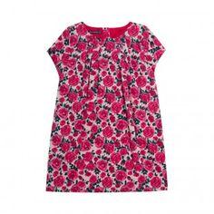 Robe rose imprimée Firobette - Les robes et jupes - Fille - Petit enfant (2-7 ans) | Sergent Major