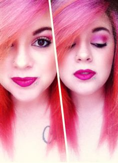 I love this look from @Sephora's #TheBeautyBoard http://gallery.sephora.com/photo/understated-flamingo-17356