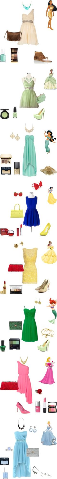 """Disney Princess Inspired"" by maddie-callen on Polyvore"