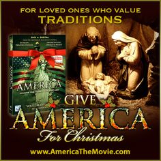 Christmas Tradition #7: The Nativity Scene. Facebook Christmas campaign for the Dinesh D'Souza film, AMERICA: Imagine the World Without Her.