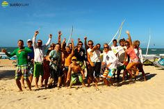 #kitesurfing camp in Brazil 2012
