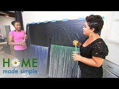 Decorating with Drip Art | Home Made Simple | Oprah Winfrey Network - YouTube