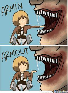Attack On Titan: Armin by rugokku - Meme Center