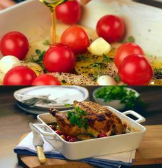 Roasted chicken with mustard   food recipes for all