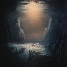 "Algrim. Oil-painting ""Inside"""