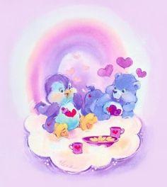 Care Bears and Care Bear Cousins: Cozy Heart Penguin and Harmony Bear Care Bear Party, Bear Clipart, Rainbow Brite, Bear Art, Disney Cartoons, 90s Cartoons, The Good Old Days, Cartoon Characters, My Little Pony