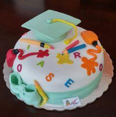 Pastel de graduación