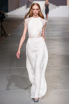 #BOHOBOCO #SS2013 #FASHION SHOW White Maxi Dresses, White Dress, Formal Dresses, All White Party, Bridal Gowns, Luxury Fashion, Style Inspiration, Boho, Avant Guard