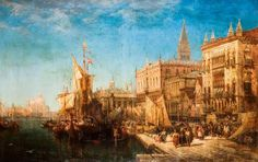 Venice - William Wyld Your Paintings, Venice, Blog, Art, Art Background, Kunst, Gcse Art, Art Education Resources, Artworks
