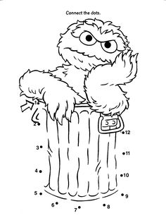 sesame street coloring pages bing images - Sesame Street Coloring Books